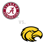 MBB: Alabama Crimson Tide at Southern Miss Golden Eagles