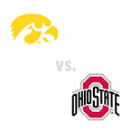 MBB: Iowa Hawkeyes at Ohio St. Buckeyes