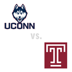 MBB: Connecticut Tigers at Temple Owls