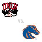 MBB: UNLV Rebels at Boise St. Broncos