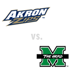 MBB: Akron Zips at Marshall Thundering Herd