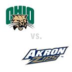MBB: Ohio Bobcats at Akron Zips