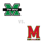 MBB: Marshall Thundering Herd at Maryland Terrapins