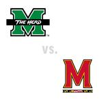 MBB: Marshall Thundering Herd at Maryland Terrapins