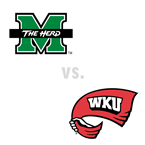 MBB: Marshall Thundering Herd at Western Kentucky Hilltoppers