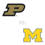 MBB: Purdue Boilermakers at Michigan Wolverines