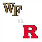 MBB: Wake Forest Demon Deacons at Rutgers Scarlet Knights