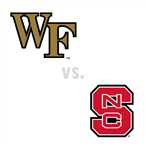 MBB: Wake Forest Demon Deacons at North Carolina St. Wolfpack