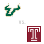MBB: South Florida Bulls at Temple Owls