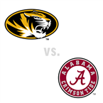 MBB: Missouri Tigers at Alabama Crimson Tide