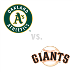 Oakland Athletics at San Francisco Giants