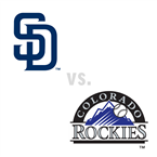 San Diego Padres at Colorado Rockies