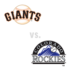 San Francisco Giants at Colorado Rockies