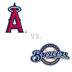 Los Angeles Angels of Anaheim at Milwaukee Brewers