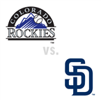 Colorado Rockies at San Diego Padres