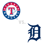 Texas Rangers at Detroit Tigers