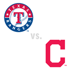 Texas Rangers at Cleveland Indians