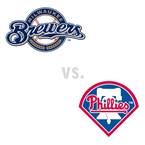 Milwaukee Brewers at Philadelphia Phillies