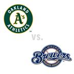 Oakland Athletics at Milwaukee Brewers
