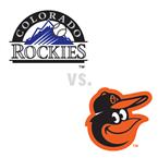 Colorado Rockies at Baltimore Orioles