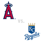 Los Angeles Angels of Anaheim at Kansas City Royals