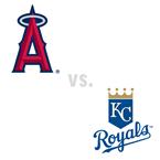 Los Angeles Angels of Anaheim at Kansas City Royals