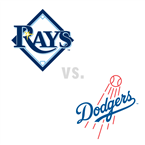 Tampa Bay Rays at Los Angeles Dodgers