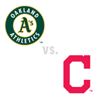 Oakland Athletics at Cleveland Indians