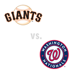 San Francisco Giants at Washington Nationals
