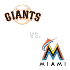 San Francisco Giants at Miami Marlins
