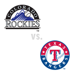 Colorado Rockies at Texas Rangers