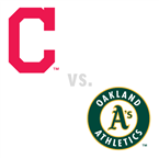 Cleveland Indians at Oakland Athletics