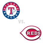 Texas Rangers at Cincinnati Reds