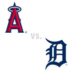 Los Angeles Angels of Anaheim at Detroit Tigers