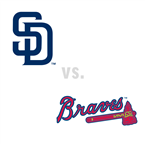 San Diego Padres at Atlanta Braves