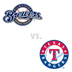 Milwaukee Brewers at Texas Rangers