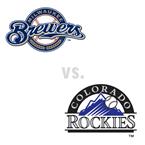 Milwaukee Brewers at Colorado Rockies