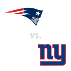 New England Patriots at New York Giants