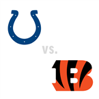 Indianapolis Colts at Cincinnati Bengals