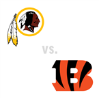 Washington Redskins at Cincinnati Bengals
