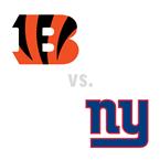 Cincinnati Bengals at New York Giants