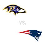 Baltimore Ravens at New England Patriots