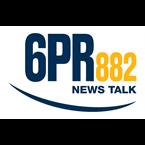 882 6PR Logo