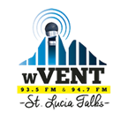 93.5 WVent Logo