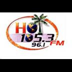 The Blast on 105.3 Caribbean Hot FM Logo