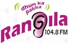 Rangila FM, 104 8 FM, Raipur, India   Free Internet Radio
