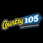 Country 105 (CKTG-FM) - 105.3 FM